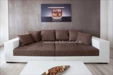 sofa tiefe sitzfl che big sofas und led sofas gunstig im. Black Bedroom Furniture Sets. Home Design Ideas