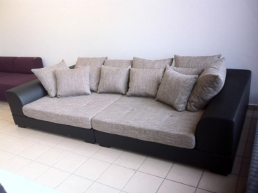 couch big sofa xxl abnehmbare bez ge neu ovp farbe und gr e w hlbar. Black Bedroom Furniture Sets. Home Design Ideas