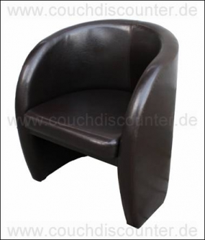 "Cocktailsessel Sessel Clubsessel Loungesessel Modell ""R"""