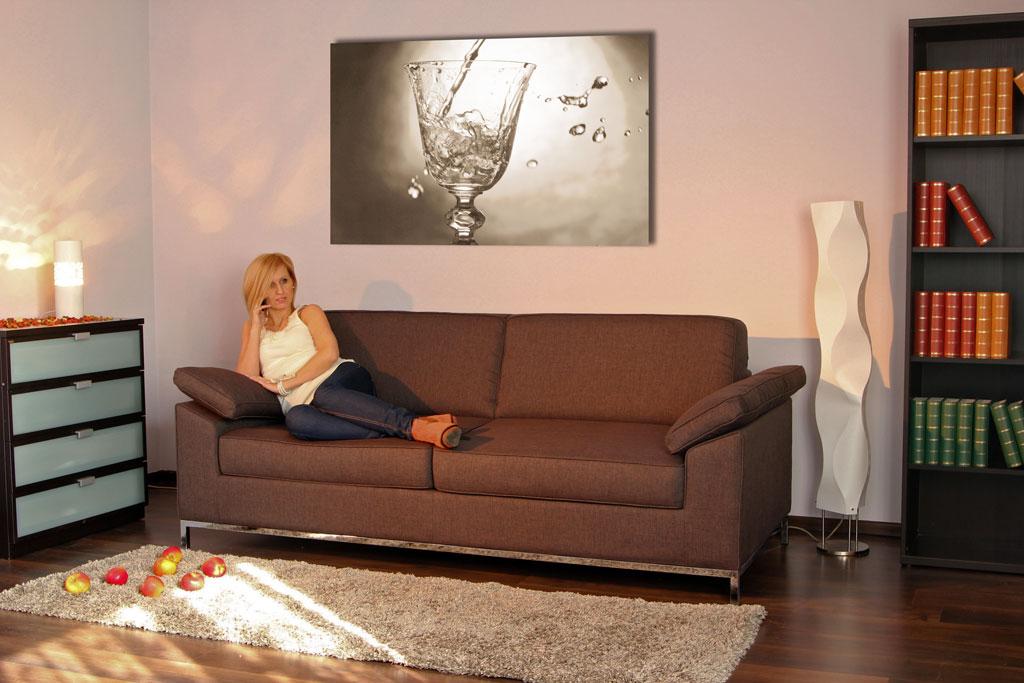 Couchdiscounter qualit t auswahl service und g nstige for 3 sitzer mit bettfunktion