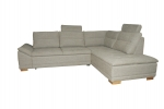 Design Ecksofa Venezia (270 x 218 cm) mit Bettfunktion + Bettkasten !