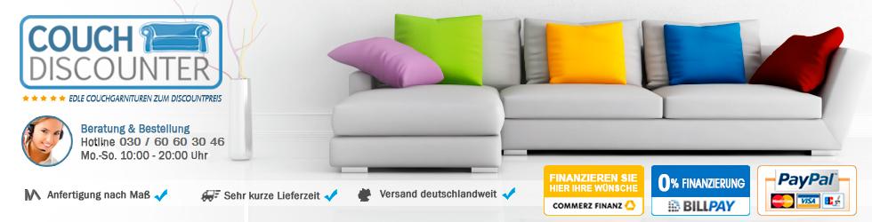 COUCHDISCOUNTER - Qualität, Auswahl, Service und günstige Preise-Logo