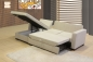 "Mobile Preview: Kleines Ecksofa mit Funktion Modell ""Madrid"" (237 x 152 cm)"